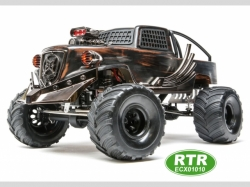 ECX Monstertruck BARRAGE 1:12 4WD EP RTR DoomsdayT Edition..