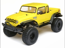ECX Monstertruck BARRAGE GEN2 Gelb 1:12 4WD EP RTR, RC-Mod..
