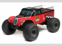 ECX MONSTER TRUCK AXE RTR 2WD 1:10 EP, RC-Modellauto
