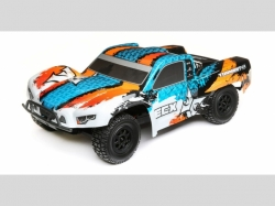 ECX Shortcourse-Truck TORMENT Blau/Orange 1:10 4WD EP RTR,..
