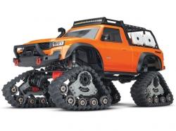 Traxxas TRX4 Sport mit TRAXX-Raupen Orange 1:10 4WD ARTR, ..