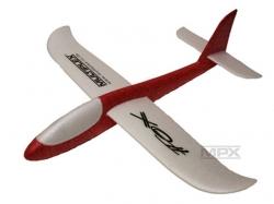 Multiplex Fox Handwurfgleiter Rot/weiss 495mm