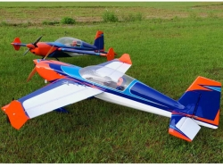 "EXTREMEFLIGHT-RC EXTRA 300 85"" ORANGE / BLAU / WEISS ARF V.."