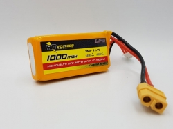 RB Voltage 1000mAh 3S 40C XH/XT60 LiPo-Akku