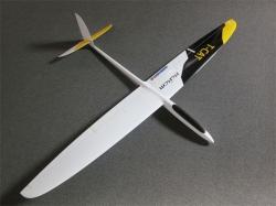 RCRCM T-Cat Spw. 1.88m CFK Gelb/Weiss mit Schutztaschen, S..