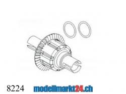 ZDRacing 8224 Differentialgetriebe vorne/hinten kpl. Druck..