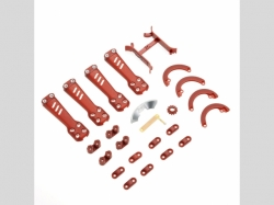 VORTEX 230 Plastic Kit Red