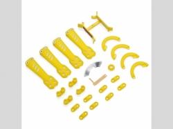 VORTEX 230 Plastic Kit Yellow
