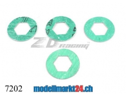 ZDRacing 7202 Kupplungsscheiben zu Modellen 1:10