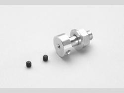 Luftschr. Kupplung M6 welle Ø2,3mm 1x