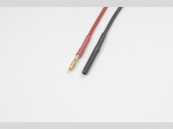 2.0mm Goldstecker S+B 20AWG 10cm 1x