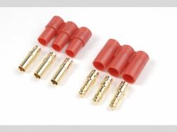 3.5mm Goldstecker 3pins S+B 1x
