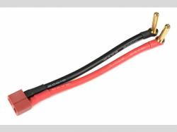 Adapterkabel - Bullit 4mm Gold > Dean s Buchse - 12cm - 1 pc