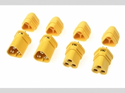 Connector - MT-30 3-Polig - Goldkonta kten - Stecker + Buc..