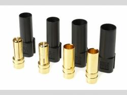 Steckverbinder - XT-150 - Goldkontakt en - Stecker + Buchs..