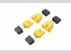 Steckverbinder XT-60Lm/Kappe S+B 2P