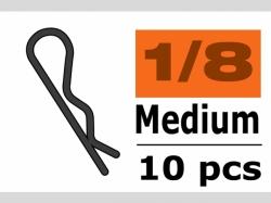 Karosserieklamm. 1/10 M Schw.45° 10x