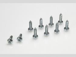 Linsen-Blechschraube 2,9X6,5 10x