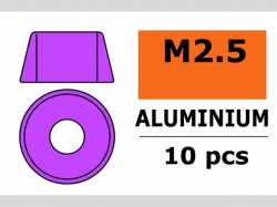 Unterlegscheibe M2.5 Zyl. Violet 10x