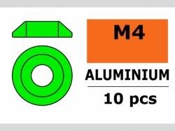 Unterlegscheibe M4 Lins. Grün 10x