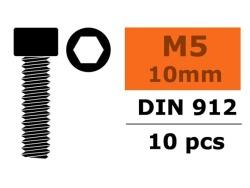 Zylinderschr. Sechskant M5X10 10x