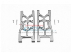 ALUMINUM REAR LOWER ARMS Silbergrau -6PC SET