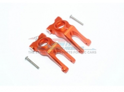 ALUMINUM REAR KNUCKLE ARM Orange - 4PC SET