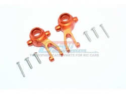 ALUMINUM FRONT KNUCKLE ARMS Orange -8PC SET