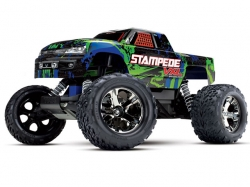 Traxxas Stampede VXL 2WD Grün 1:10 TSM ARTR, ohne Ladegerä..