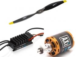 AXI Antrieb für Schleppmodelle bis 300cm an 14 - 15s Lipo