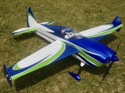 """Skywing Laser260 V2 60"""" 1.52m Blau/Grün/Weiss ARF"""