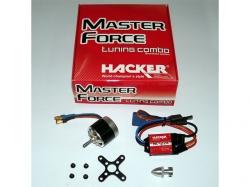 Hacker Brushless Set Master Force 2826CA-15R KV 1200 & MC-22