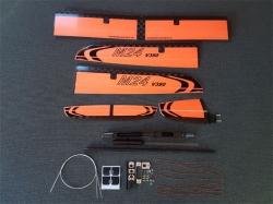 M24 V380 Elektro ARF Orange F5J-Thermiksegler