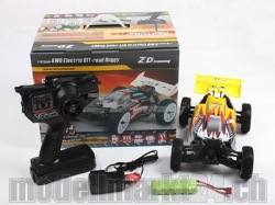 ZDRacing BX-16 El. Off-Road Buggy 1:16 4WD RTR Brushed Edi..