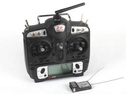 ZDRacing T9AH-2400 9-Kanal Fernsteuerung 2.4GHz