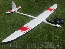 RTF RCRCM E-Hornet Spw. 2,0m CFK (Carbon) Weiss/Rot