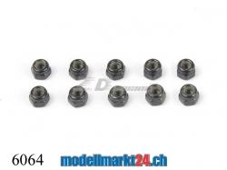 ZDRacing 6064 6-kt Stoppmutter M4