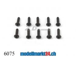 ZDRacing 6075 Linsenkopfschraube M2.6x10mm selbstschneiden..