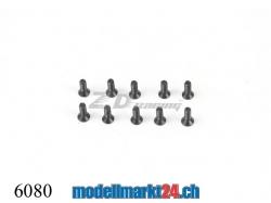 ZDRacing 6080 Senkkopfschraube M2x6mm selbstschneidend 10Stk