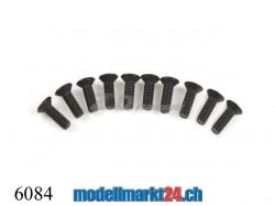 ZDRacing 6084 Senkkopfschraube M2.6x8mm 10Stk