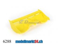 ZDRacing 6288 Heckflügel gelb zu Buggy 1:16