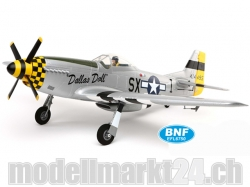 E-Flite P-51D Mustang BNF Basic Spw.1'120mm