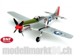 Parkzone Ultra Micro P-51D Mustang BNF Spw.410mm AS3X