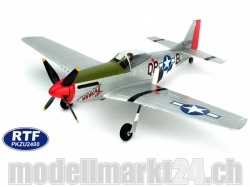 Parkzone Ultra Micro P-51D Mustang RTF Spw.410mm AS3X M2