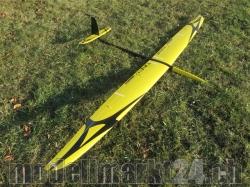RCRCM Tabu Spw. 2.976m CFK (Carbon) Gelb/Schwarz, RC Model..