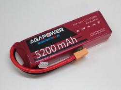AGA-Power LiPo-Akku 5200mAh 11,1V 25C 3S1P