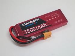 AGA-Power LiPo-Akku 1800mAh 7,4V 25C 2S1P
