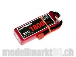 AGA-Power LiPo-Akku 1800mAh 11,1V 25C 3S1P