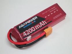 AGA-Power LiPo-Akku 4200mAh 11,1V 25C 3S1P