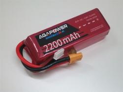 AGA-Power LiPo-Akku 2200mAh 14,8V 25C 4S1P